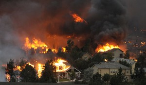 Waldo Canyon Fire - photo Helen H. Richardson, Denver Post, 2012
