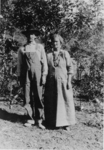 My great-grandparents both came to Colorado with their folks when they were still children, at the close of the Civil War.
