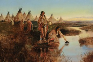 Water for Camp, by Charles M. Russell