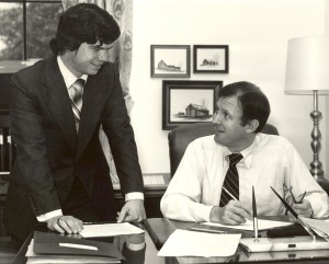 Greg Walcher and Senator Bill Armstrong, 1979