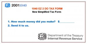 Simple Tax Form