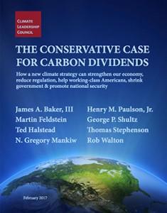Conservative Case for Carbon Dividends